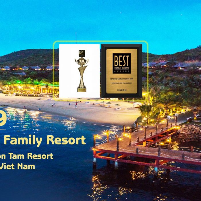 MERPERLE HON TAM RESORT WON LEADING FAMILY RESORT OF BEST HOTELS - RESORTS AWARDS