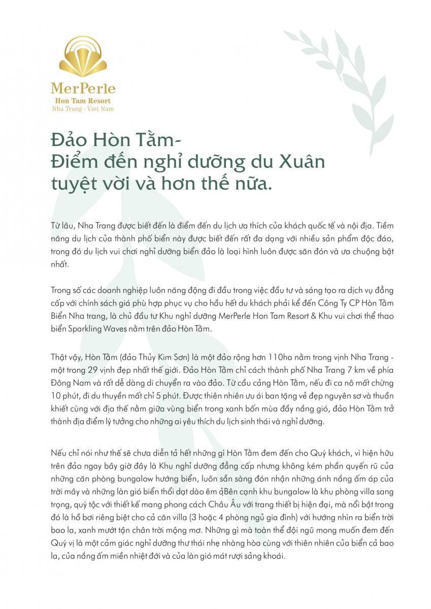 Đảo Xanh Hòn Tằm Xinh Đẹp-Thích Hợp Du Xuân-1