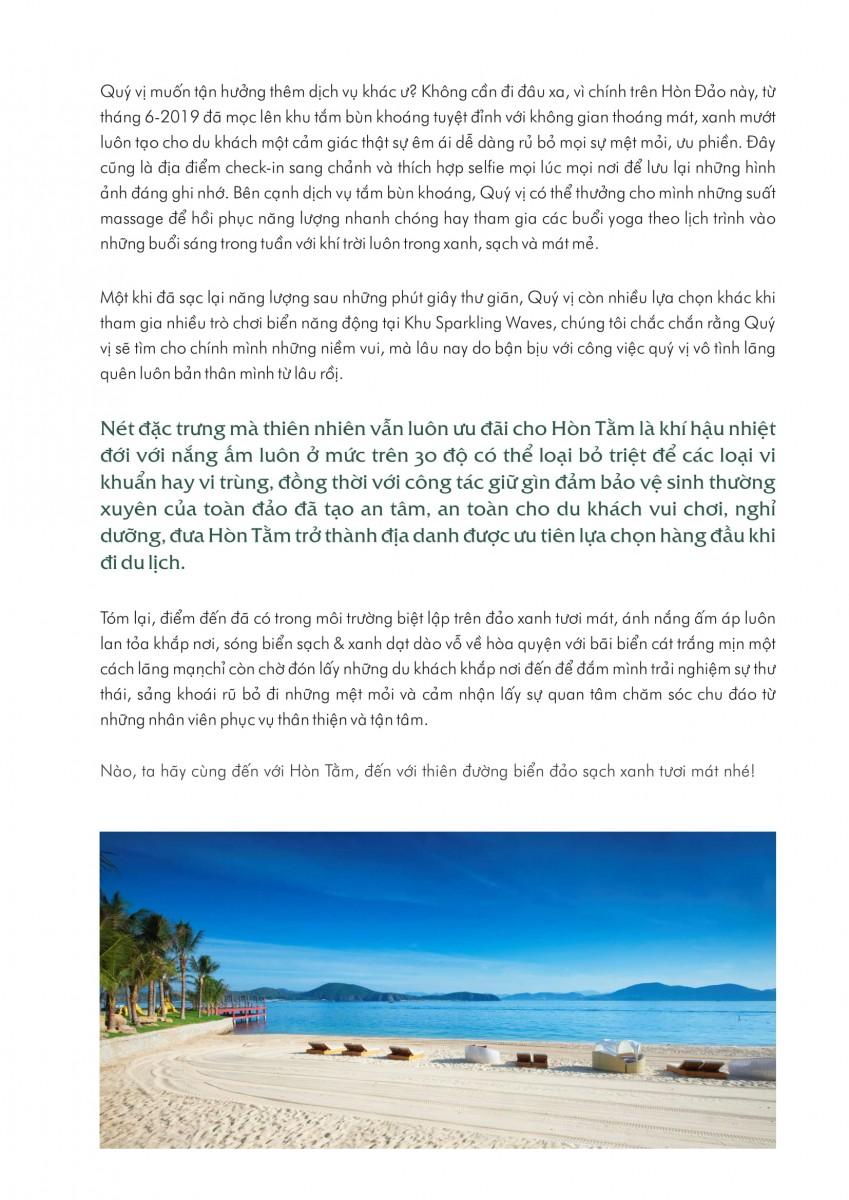 Đảo Xanh Hòn Tằm Xinh Đẹp-Thích Hợp Du Xuân-2