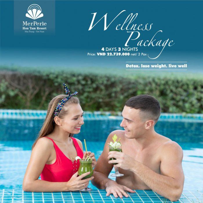 WELLNESS PACKAGE - ONLY 19,091,000 VNĐ/2 PAX