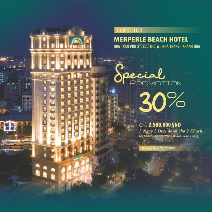 SPECIAL OFFER - MERPERLE BEACH HOTEL 4*