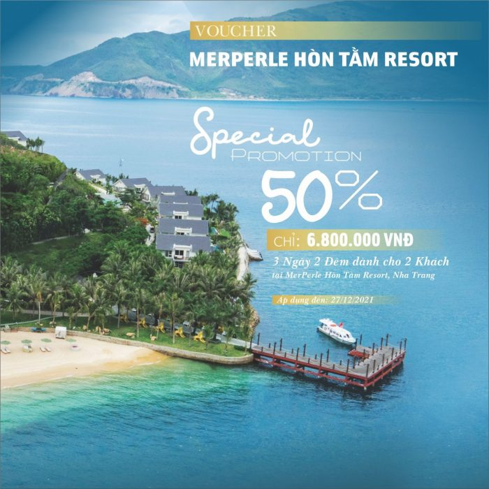 SPECIAL OFFER - MERPERLE HON TAM RESORT 5*